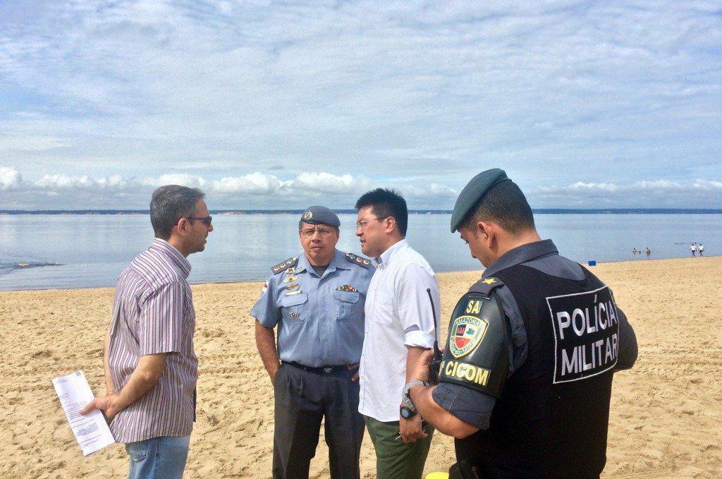 07-03-17- Segurança na Ponta Negra. Foto Assessoria (3)