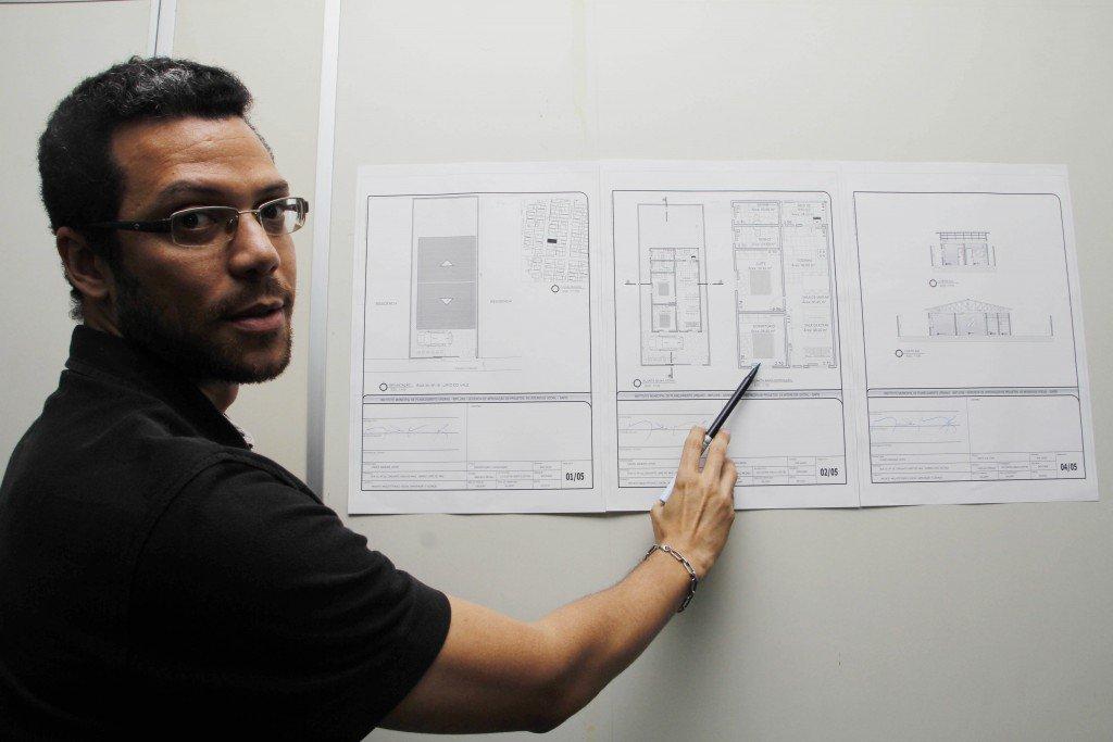 Manaus - 06/ 03/ 17 - implurb faz projeto de insenção para contrução de moradia popular.Foto Marinho Ramos semcom.