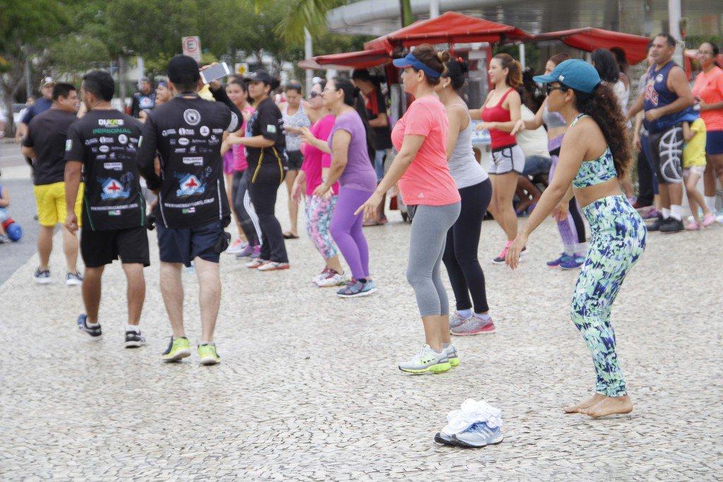Manaus 19/ 03/17- Faixa liberada ponta negra.Foto Marinho Ramos/Semcom.